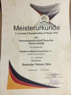 Deutscher Meister 2016