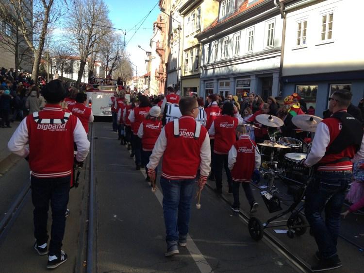 Faschingsumzug Erfurt 2017