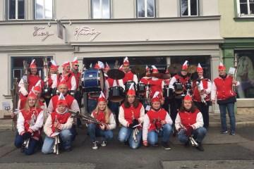 Straßenkarneval in Arnstadt 2018