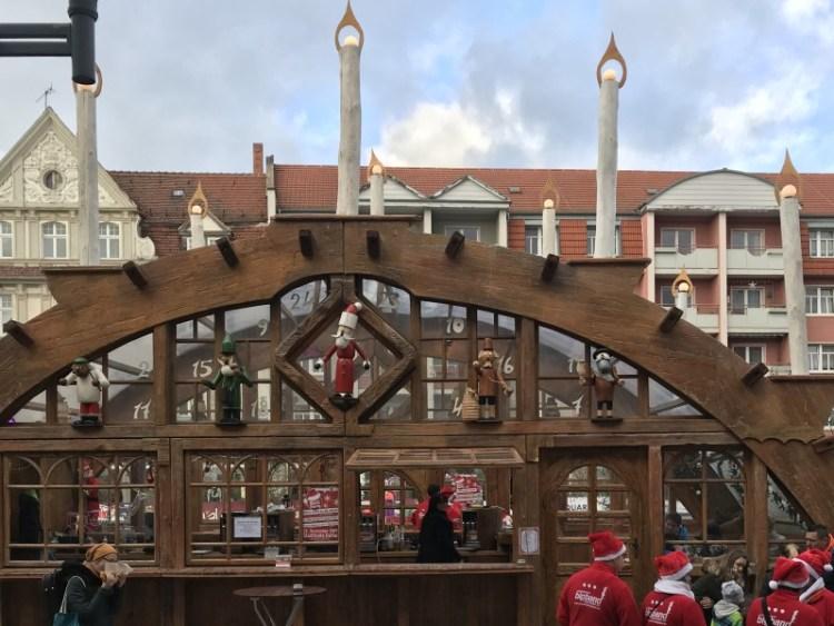Weihnachtsmarkt Gotha Schwibbogen