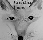 Krafttier Fuchs, Aquarell, schamanisches Krafttier