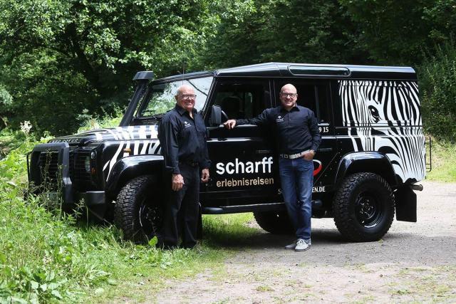 Helmut und Jörg Scharff