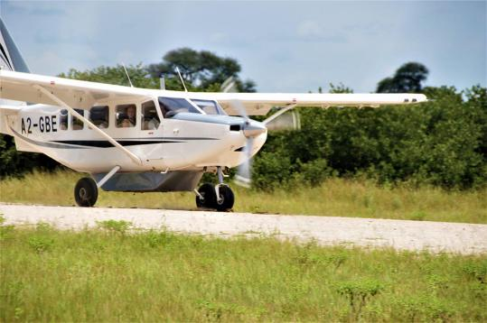 Flugsafari durch das Tierparadies Botswana