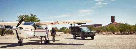 Kontakt - Flugsafari Spezial – Namibia, Botswana & Simbabwe