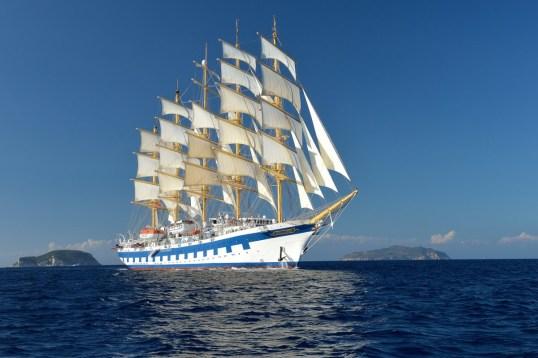 Royal Clipper Schiff Homepage - Amalfi Küste und Sizilien: verträumte Hafenstädte und antike Schätze