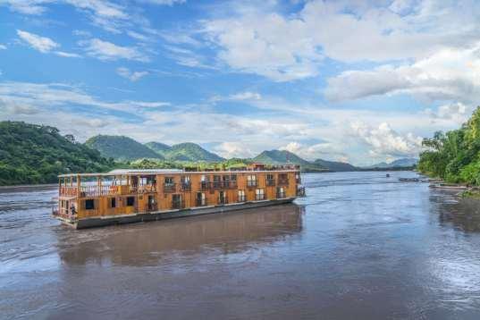 Mekong-Flusskreuzfahrt Orchidee