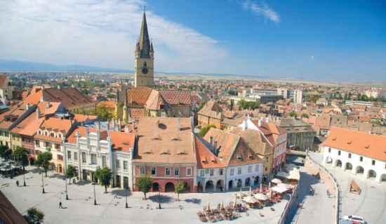 ro214 A5 - Sibiu / Hermannstadt - Eine der schönsten Städte in Rumänien