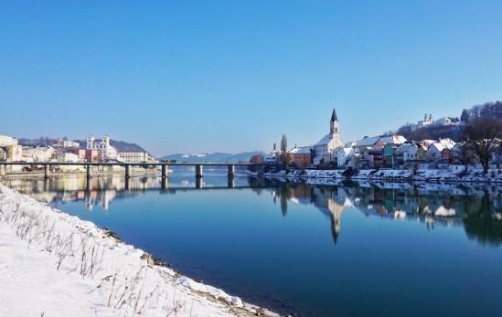Prosit Neujahr in Passau - Jahreswechsel auf der Donau
