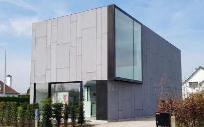Aalst, zeer strakke, moderne nieuwbouw woning