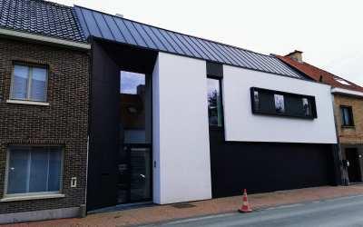 Moderne, nieuwbouw woning in Westkapelle
