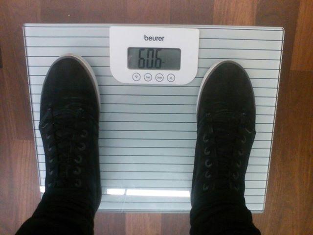 Kampfgewicht 60,6 Kg /Stand: 10.06.2013