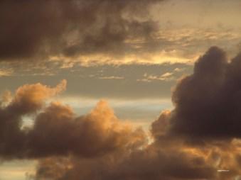 Schwedischer Wolkenabend