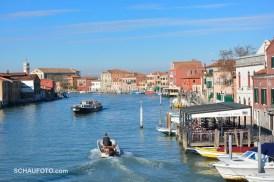 Der Hauptkanal in Murano.