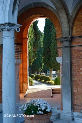 Venedigs Friedhof im November