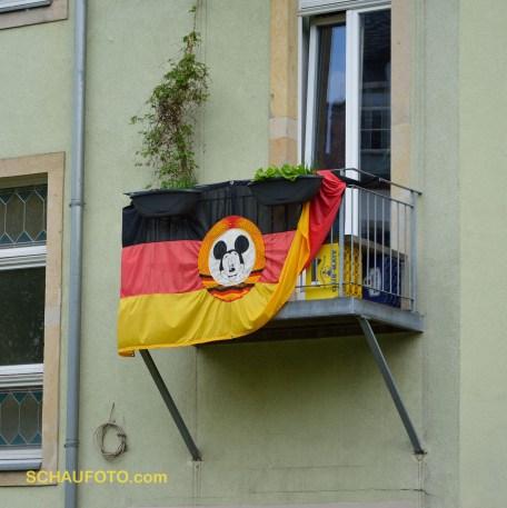 Im Hinterhof lebt die Bunte Republik Neustadt.