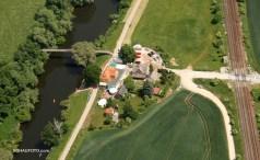 Die Location im Luftbild aus dem Jahre 2008.