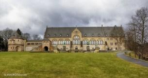 Die Kaiserpfalz Goslar in der Standardansicht.