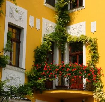 Inneneck-Balkon