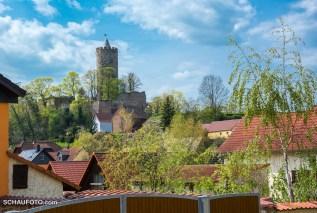 Rückblick auf die Schönburg