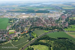 Gartenstadt Leuna an der Saale.