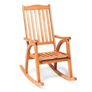 Relaxsessel garten holz  Schaukelstuhl Holz von Merxx (Garten) Test - Schaukelstuhl-Kaufen.Net