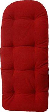 Schaukelstuhl Auflage (Rot) - 1