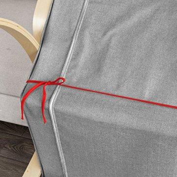SoBuy® Schutzhülle Bezug für Schaukelstuhl, Schonbezug, Auflage, FSB01-R - 3