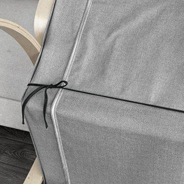 SoBuy® Schutzhülle Bezug für Schaukelstuhl, Schonbezug, Auflage, FSB01-SCH - 4