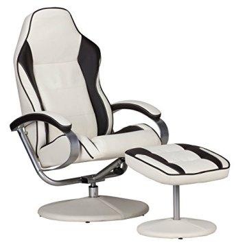 amstyle fernsehsessel sporting tv design relax sessel verstellbar racing modern bezug. Black Bedroom Furniture Sets. Home Design Ideas