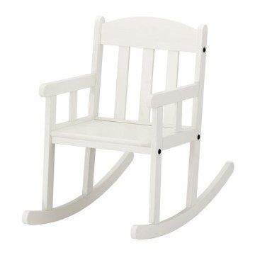 IKEA SUNDVIK-Schaukelstuhl-Stuhl, Weiß -