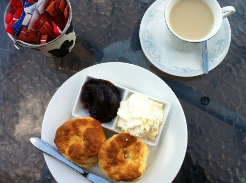 02 Scones at the Crowded House Cafe