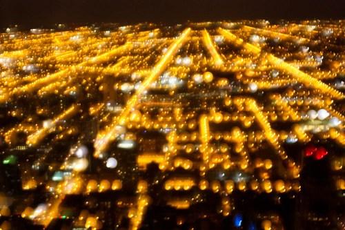 Chicago Skyline On Drugs 02