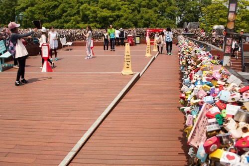 N Seoul Tower Love Locks-14