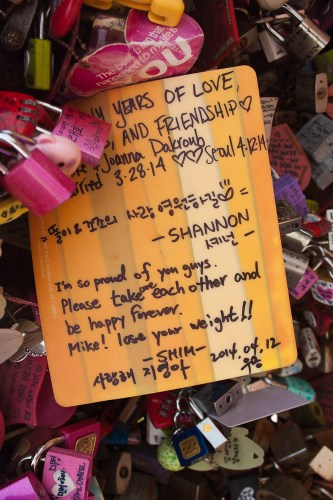 N Seoul Tower Love Locks-9