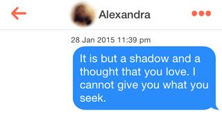 Tinder - Aragorn Chat