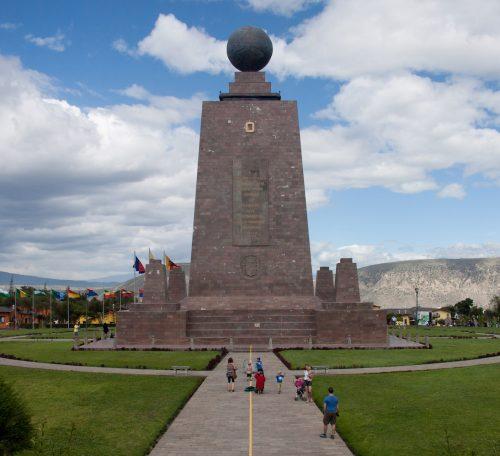 Ecuador - Mitad del Mundo monument
