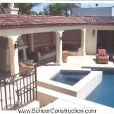 Hollywood Hillside Pool & Cabana After 8