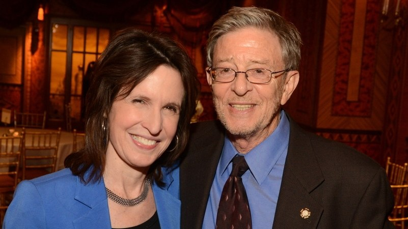 Katrina vanden Heuvel and Professor Stephen Cohen