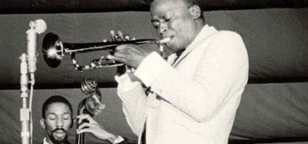 Miles Davis performing in France