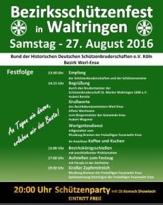 Bezirksschützenfest Waltringen 16