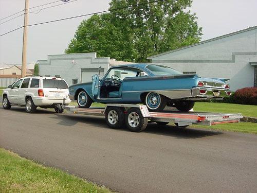 open weld car trailers in ohio