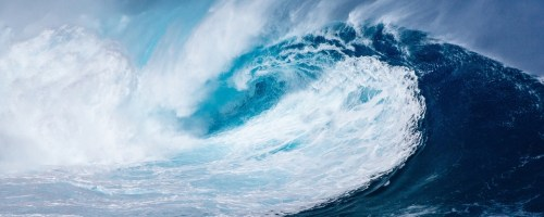 Upper-ocean warming is changing the global wave climate, making waves stronger