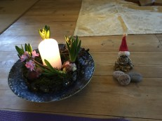 Mit lille centerpeace, meditation
