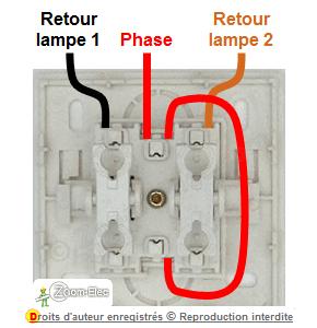 Schema Et Branchement D Un Interrupteur Double Allumage
