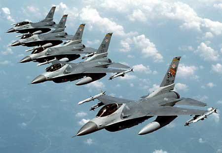 Cazas F-16 (Querétaro)