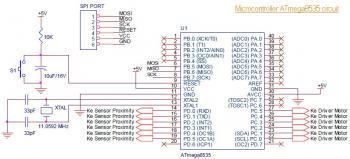 microcontroller circuit ATmega8535