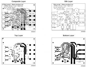 2x7W Audio Amplifier  PCB design