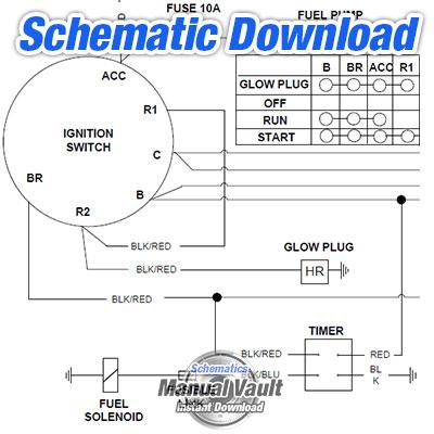 Caterpillar C10 C12 3406E C15 C16 Truck Engine Electrical Wiring