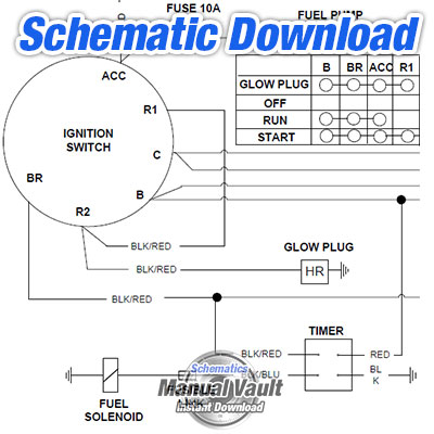 caterpillar c10 c12 3406e c15 c16 truck engine electrical wiring rh schematics manualvault com Marine Grade Switch Panel Wiring Diagrams Marine Battery Switch Diagram