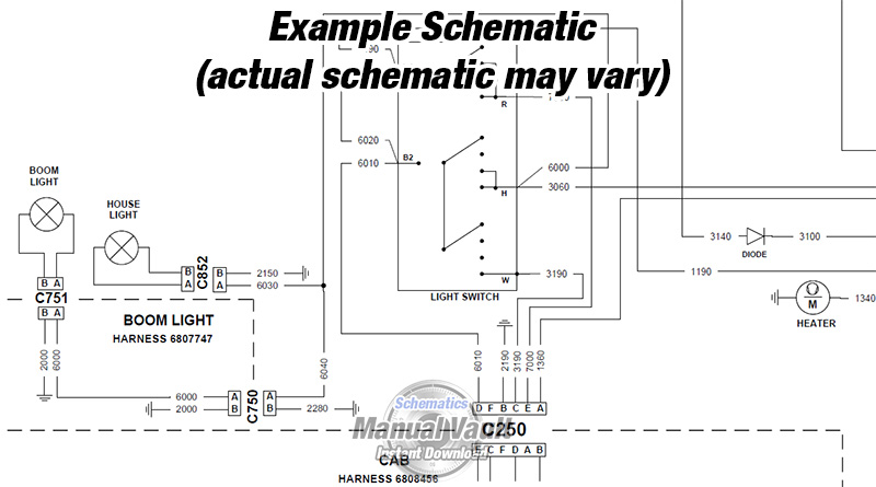 ransome bobcat wiring diagram bobcat s250 parts diagram
